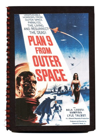 Plan 9 From Out Space Notebook