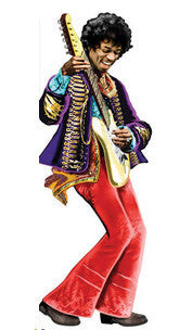Jimi Hendrix Greeting Card