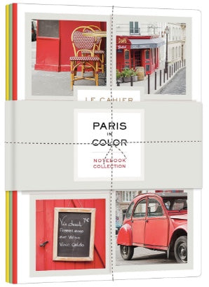 Paris in Color notebook set