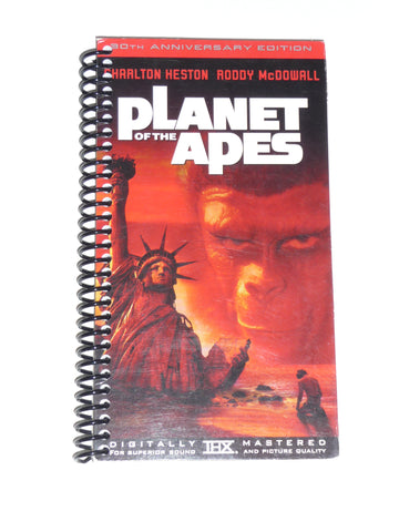 Planet of the Apes - VHS Movie notebook