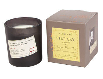 Library Candle - Edgar Allan Poe