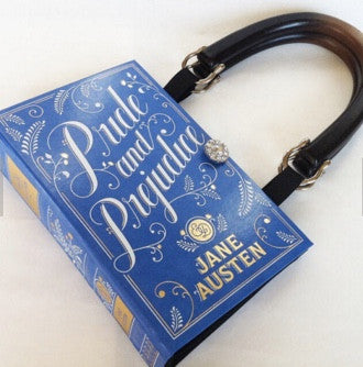 Pride and Prejudice Book Purse - handmade
