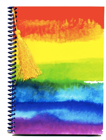 Pride LGBTQ Rainbow notebook journal