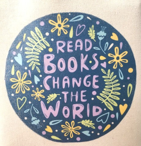 Read More Books Change the World Tote Bag Book bag