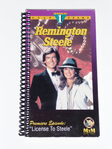 Remington Steele VHS Movie Notebook