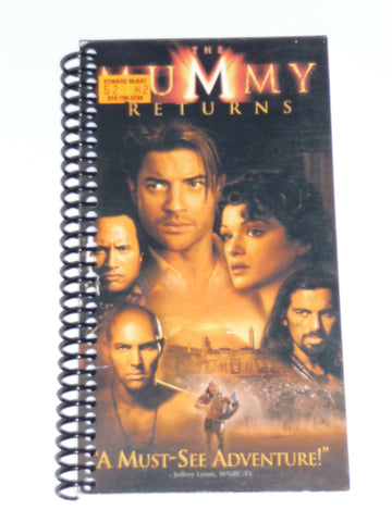 The Mummy Returns - VHS Movie Notebook