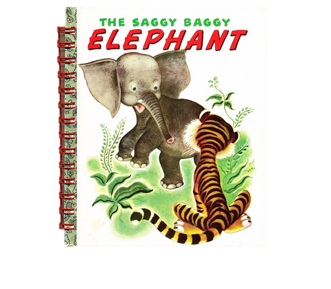 Saggy Baggy Elephant Golden Book Notebook
