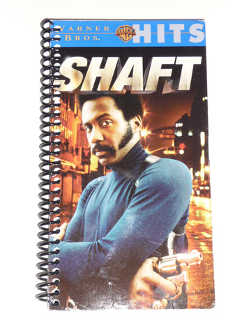Shaft - VHS Movie Notebook