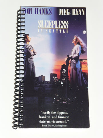 Sleepless in Seattle  - VHS Movie notebook