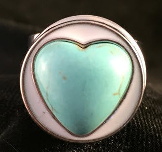 Heart of Stone Snap Button - Green