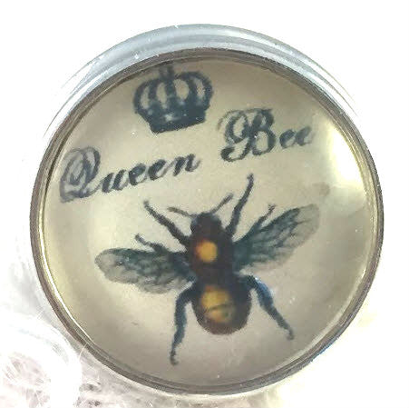 Queen Bee Snap Button