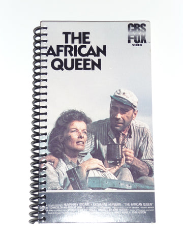 The African Queen (Version 2)  - VHS Movie Notebook