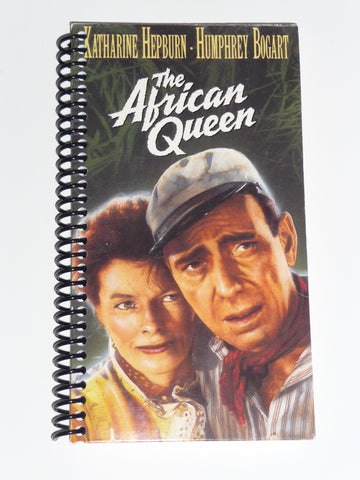 The African Queen - VHS Movie notebook