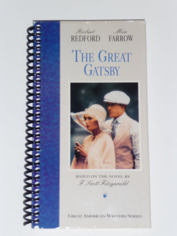 The Great Gatsby - VHS Movie Notebook