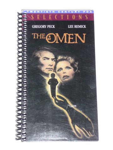 The Omen - VHS Movie notebook