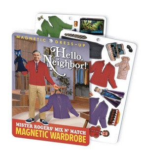 Hello Neighbor! Mister Rogers Magnetic Dress Up