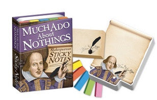 Much Ado about Nothings Shakespeare Sticky notes