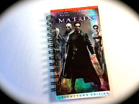The Matrix - VHS Movie notebook