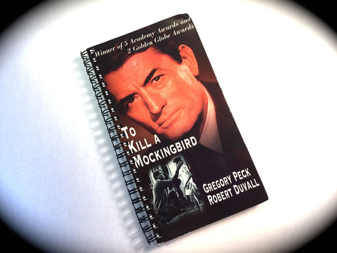 To Kill a Mockingbird - VHS Movie notebook