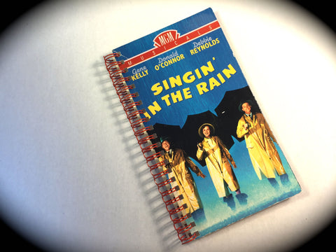 Singing in the Rain - VHS Movie notebook