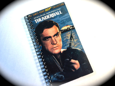 Thunderball - VHS Movie notebook
