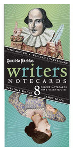 Writers Notecards Set