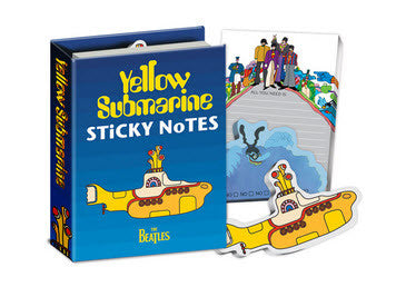 Yellow Submarine Sticky Notes