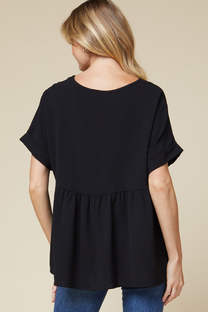 Vivian Top in Black