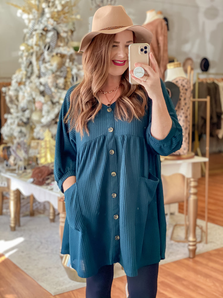 Christmas Cheer Dress in Green