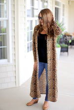 Lovely Leopard Duster