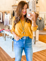 So Good Top in Mustard
