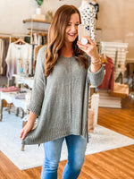 Clearly Yours Sweater in Olive