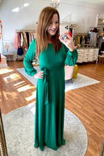 Over & Over Again Maxi in Green