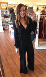 Wrapped Up Jumpsuit