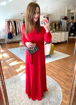 Over & Over Again Maxi in Red