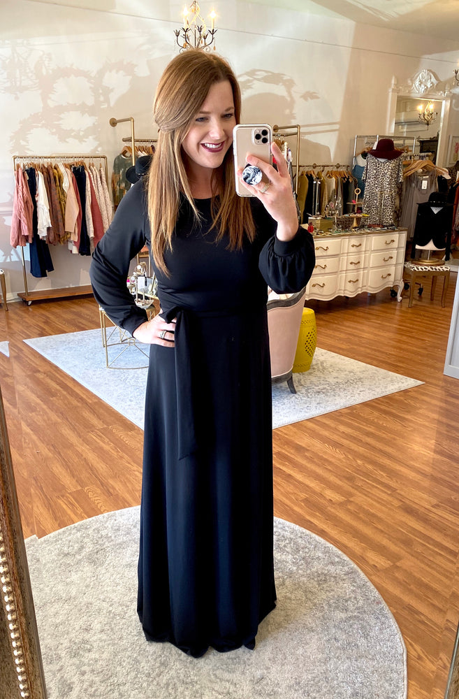 Over & Over Again Maxi in Black