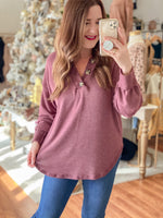 In-Bound Top in Wine
