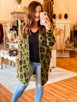 Someone Like You Cardigan in Olive