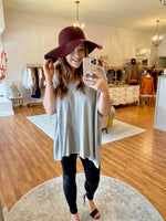 Perfect Poncho in Gray