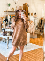 Tie-Dying Over This Dress in Mocha