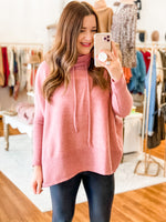 Everyday Comfy Top in Rose