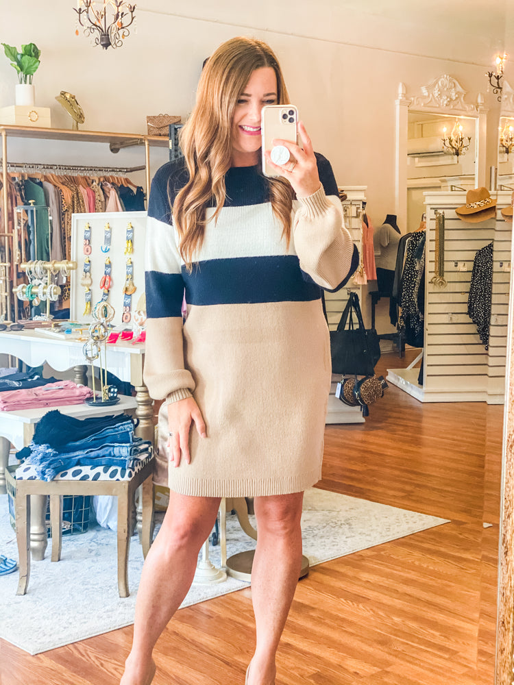 Fifth Avenue Sweater Dress