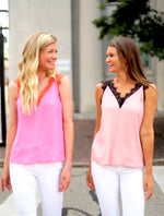 Girls Night Out Top in Pink