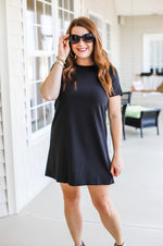 Simple Style Dress in Black