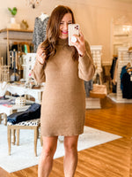Grab Your Attention Sweater in Camel