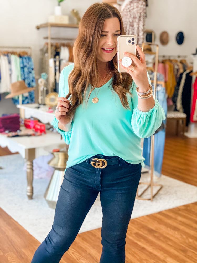 Make You Believe Top in Mint