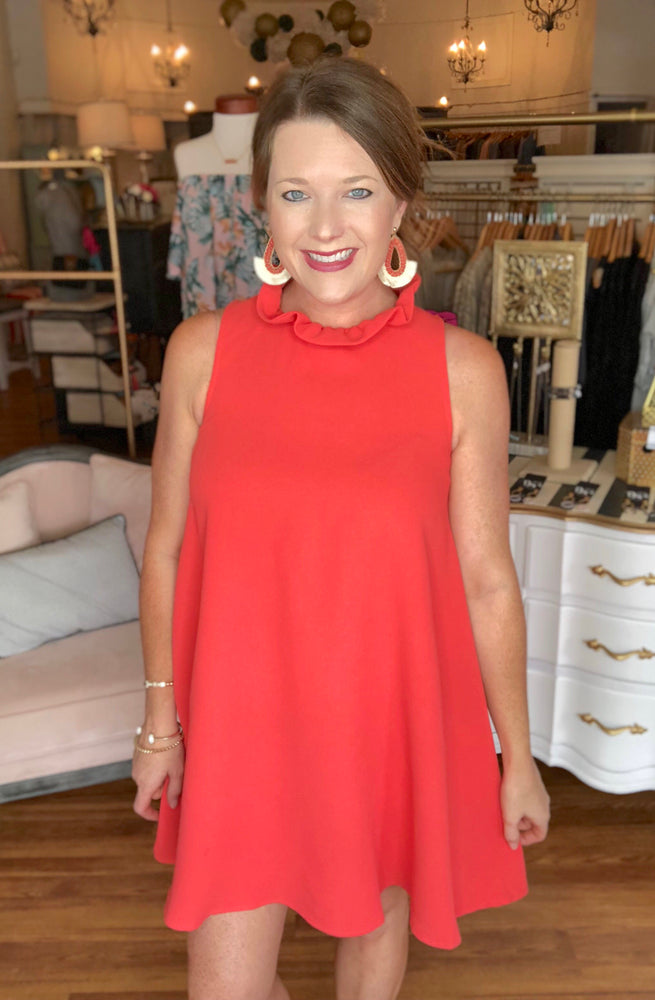 Summer Soiree Dress in Poppy