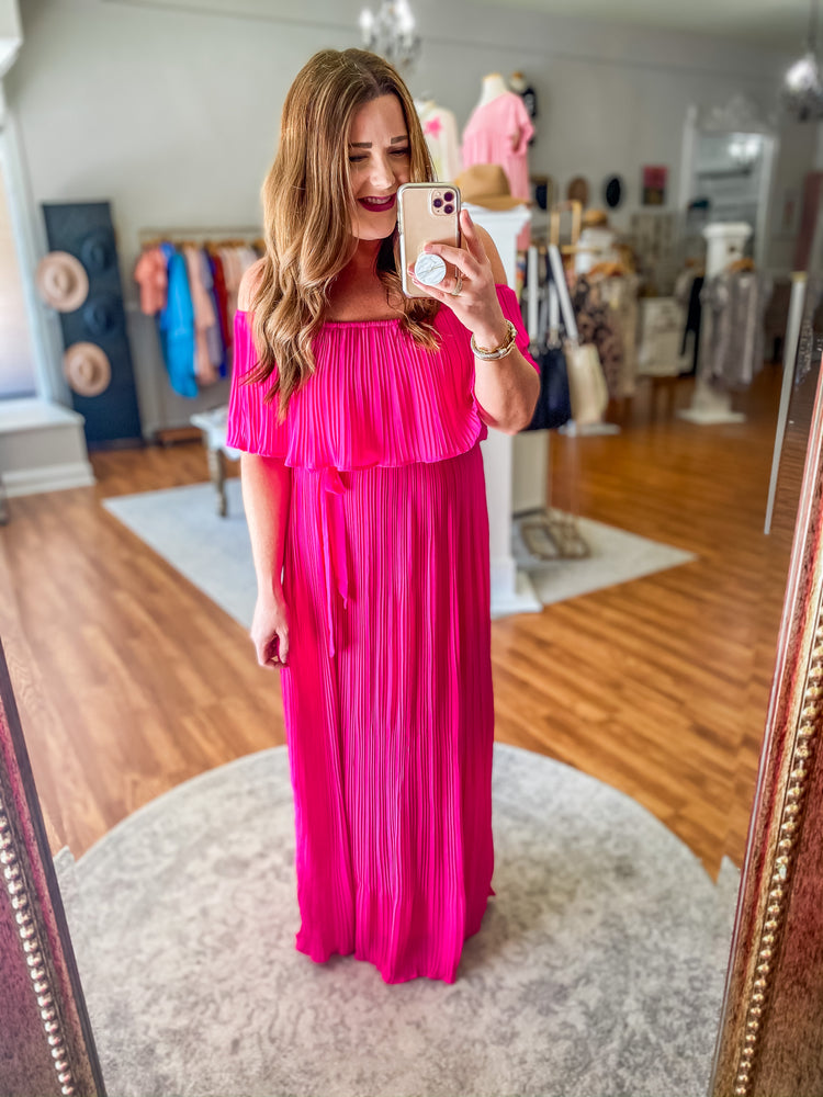 Part of the Plan Maxi in Pink