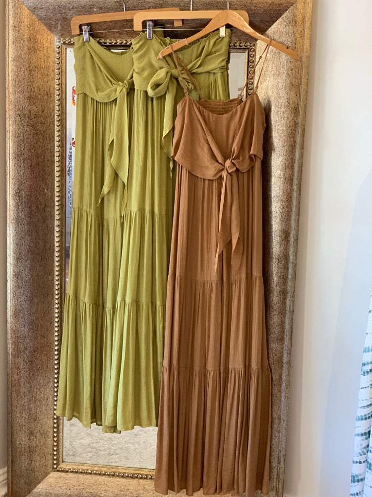 Promised Perfection Maxi in Caramel