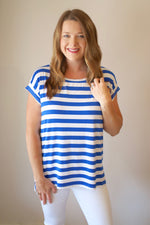 Patriotic & Proud Top in Royal